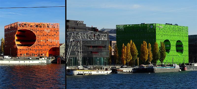 Lyon quartier confluence