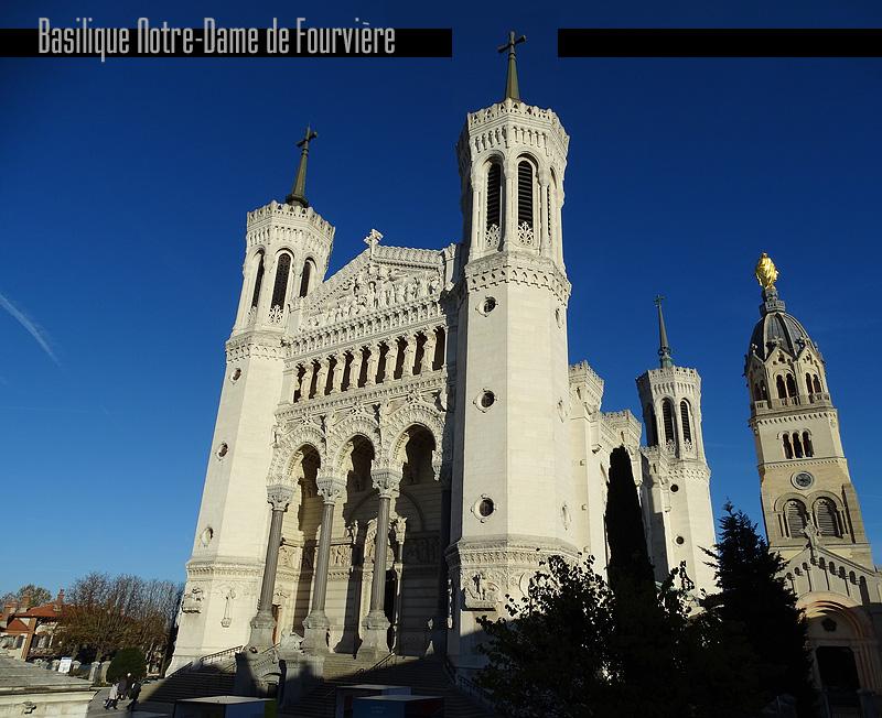basilique Fourvière Lyon