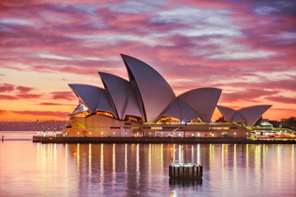 Vue de Sydney, Australie