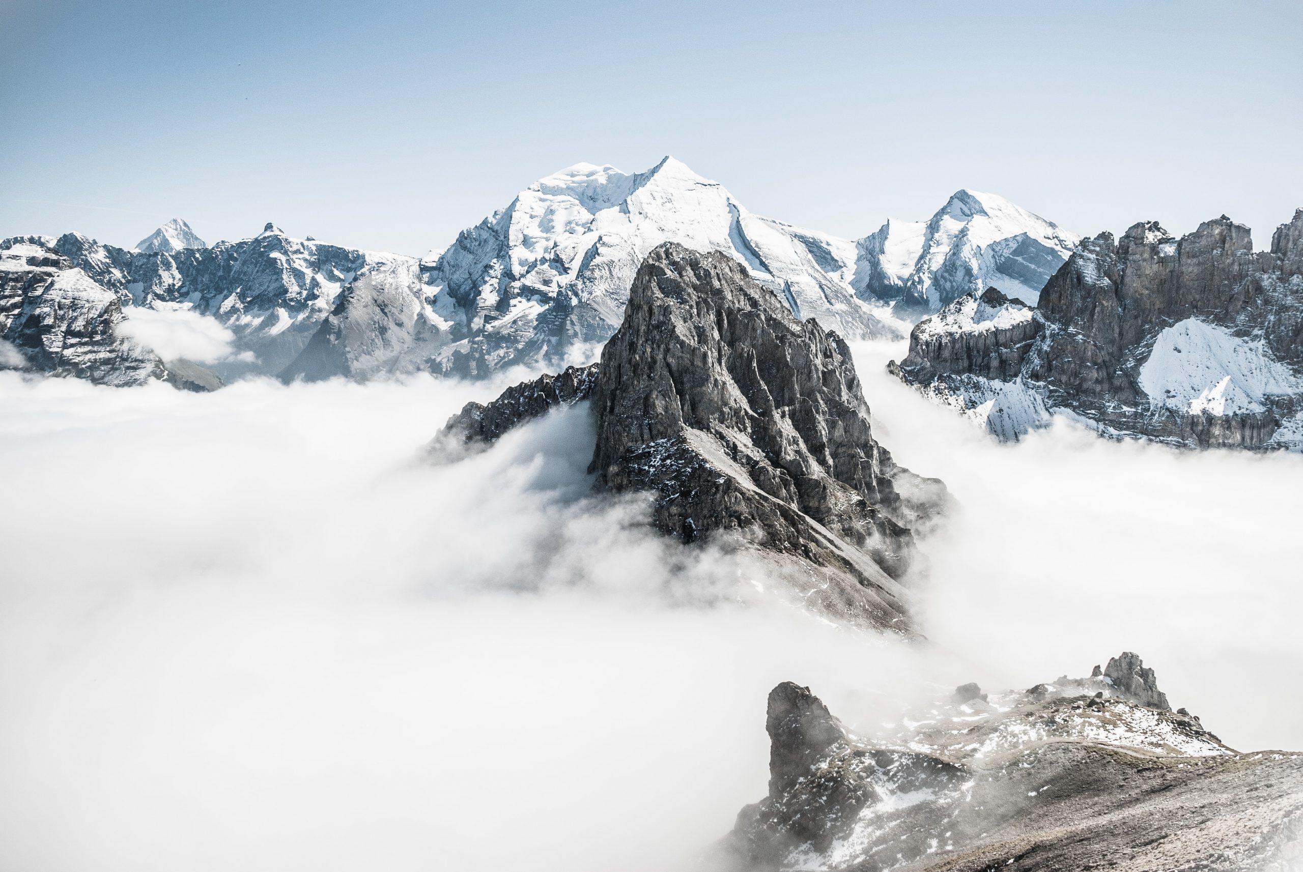 Prendre photos montagne